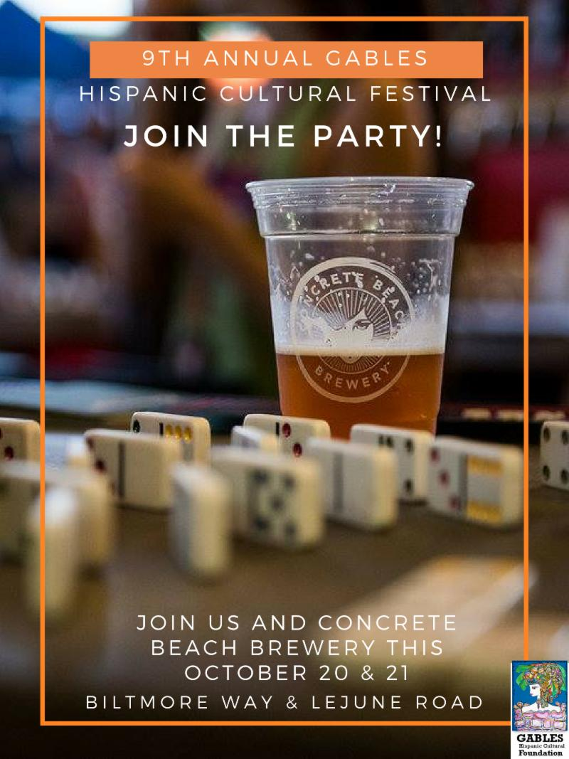 Gables Cultural Festival & Concrete Beer