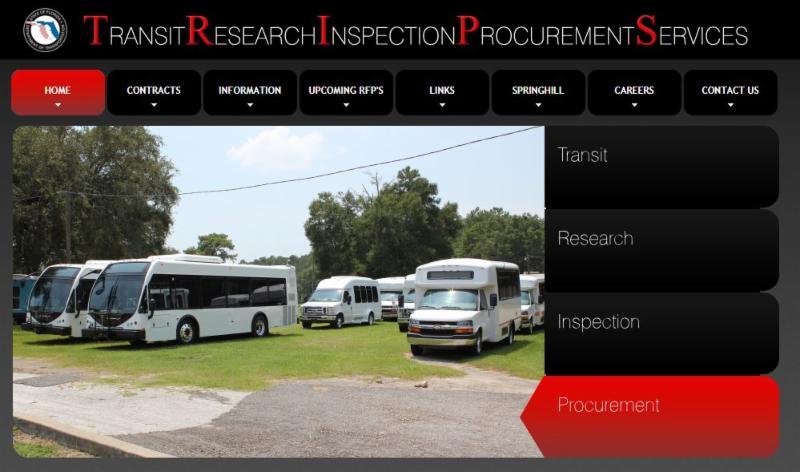 Florida Transit Research Inspection Procurement Services (TRIPS) program