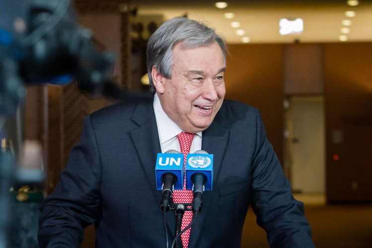 Ant_nio Guterres. UN Photo - Manuel Elias