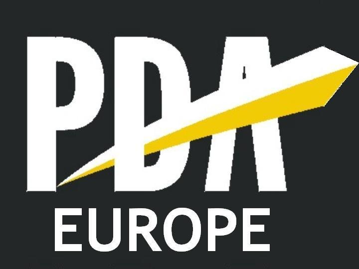 PDA E logo black