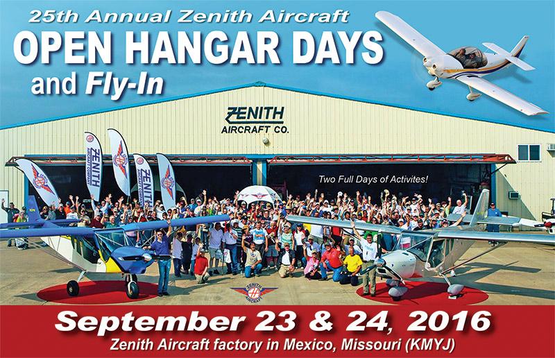 Zenith Open Hangar Days 2016