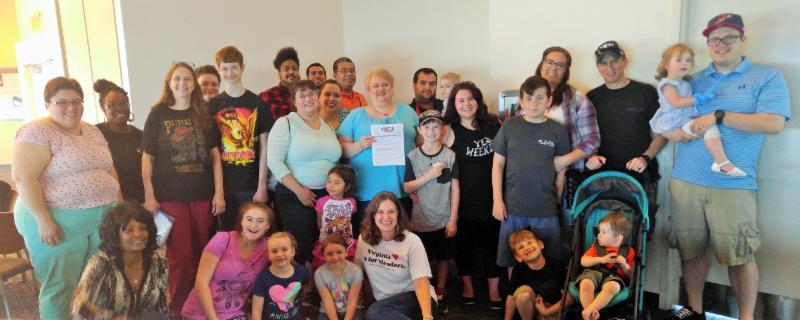 World Hemophilia Day Group Photo
