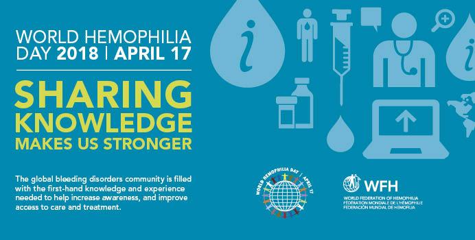 World Hemophilia Day Banner Image