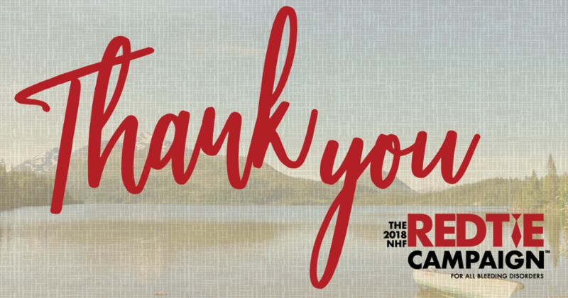 Thank You! Red Tie Campaign