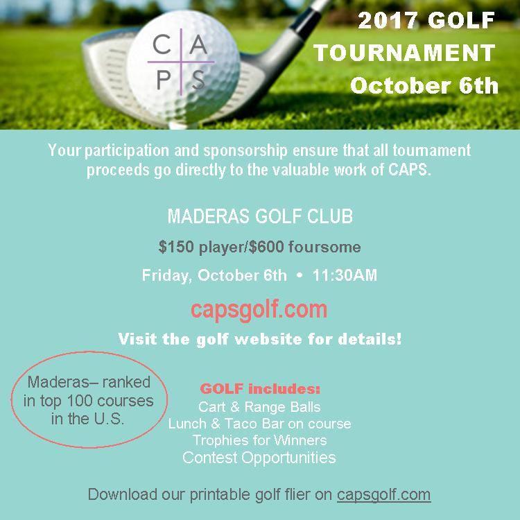 CAPS 11th Annual Golf Tournament