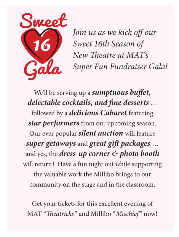 Invite to the Gala