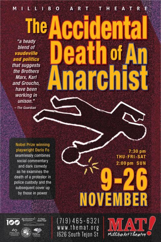 Anarchist poster