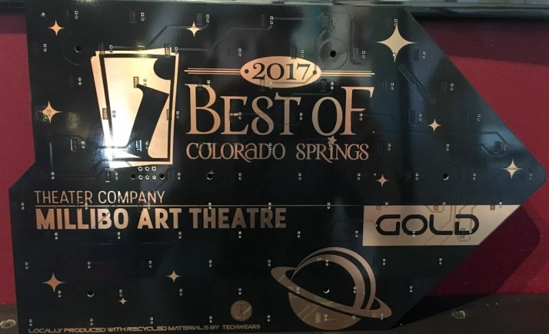 Indy Best of the Springs award for Theatre Company