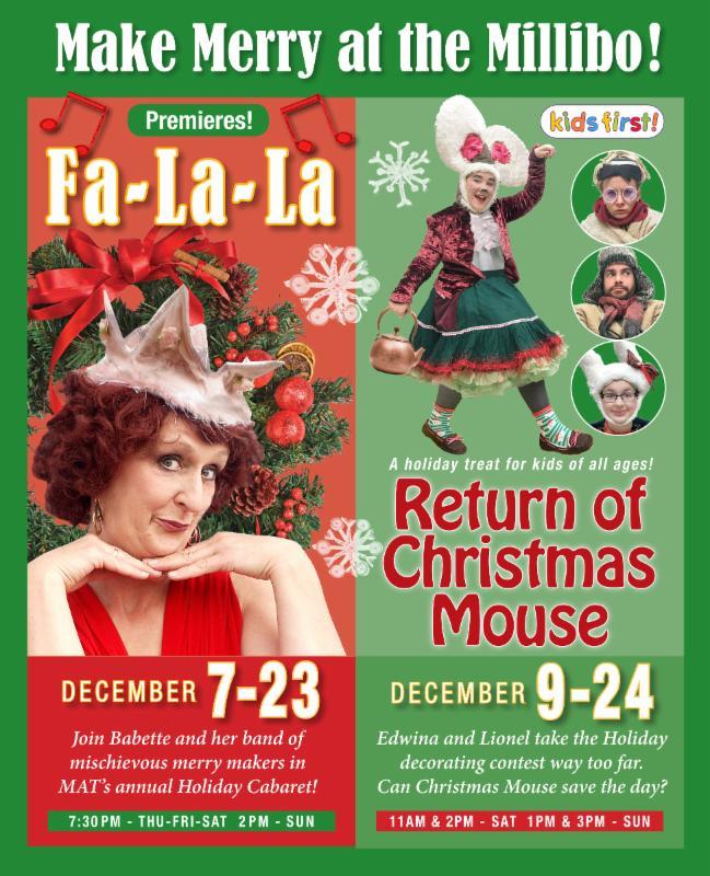 Holiday shows at the Millibo