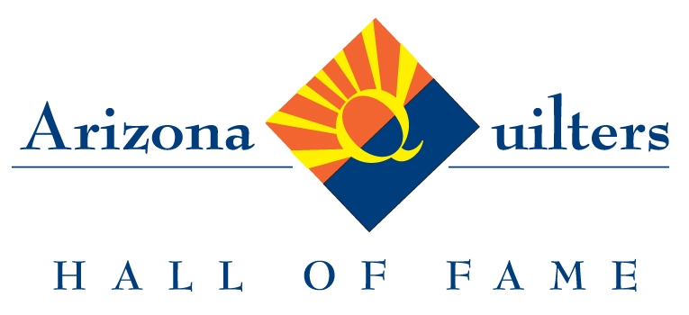 Arizona Quilters Hall of Fame logo