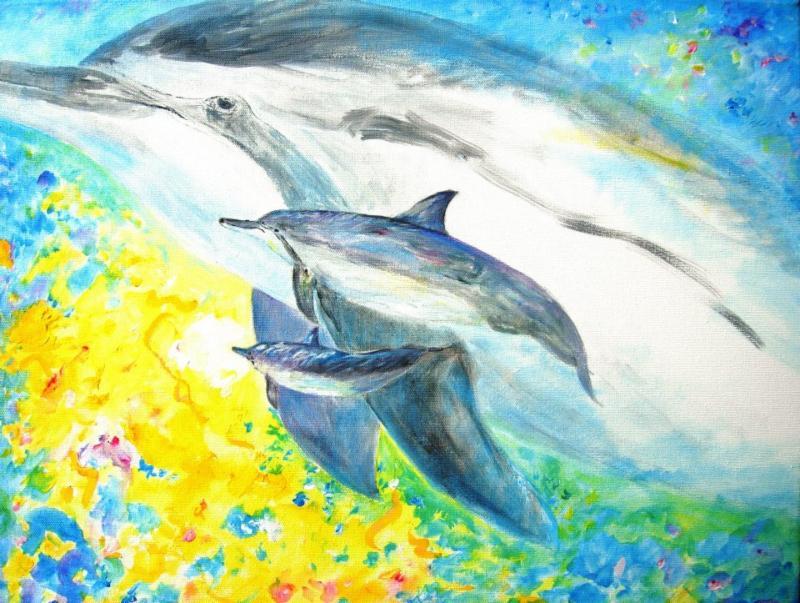 Angelic Golden Dolphin and Whale Attunements By Anrita Melchizedek