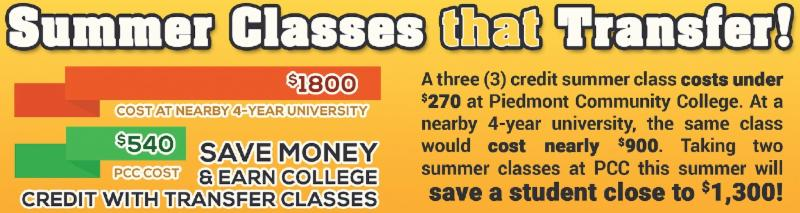 Save Money on Summer Transfer Classes! Vote PCC Best College!