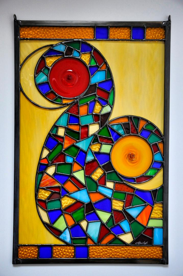 Stained Glass by Lizzie Bailey