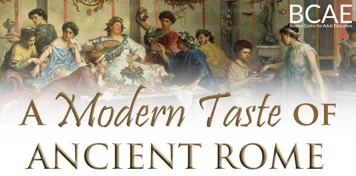 A Modern Taste of Ancient Rome