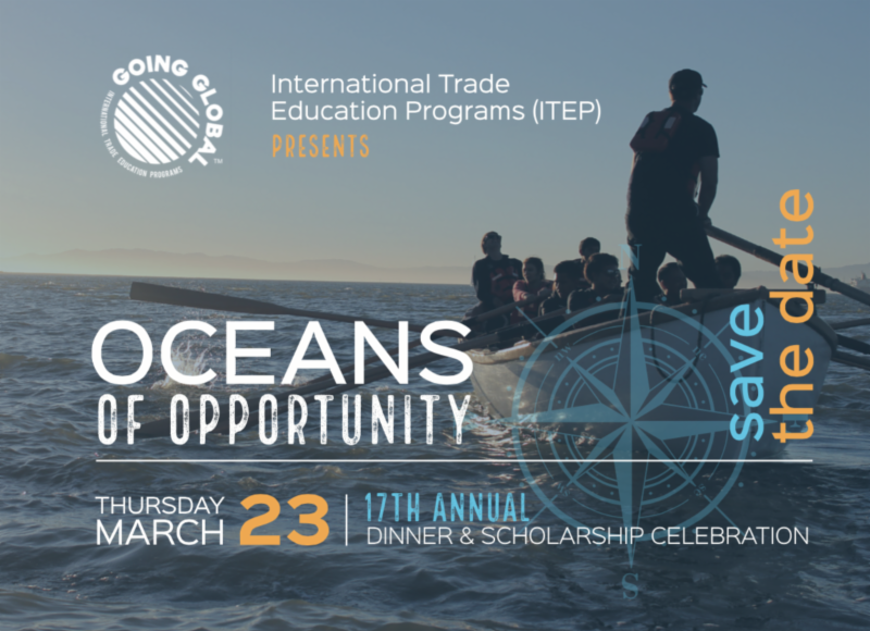 Save the date_ITEP Oceans of Opportunity 2017