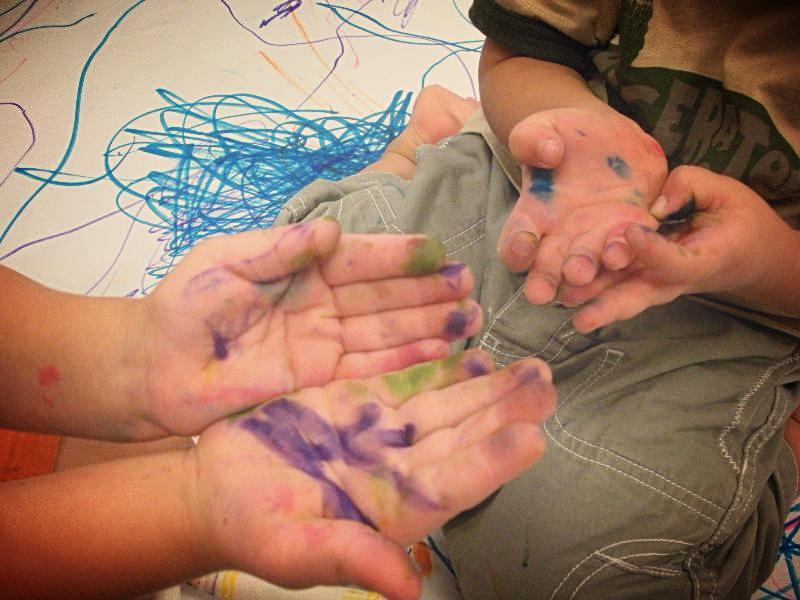 Markers on Hands 7.11