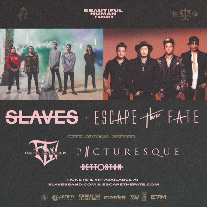 Latest News: Picturesque Announces Fall Tour with Slaves and Escape The Fate