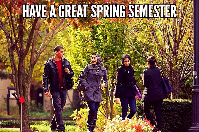 Rutgers Spring 2