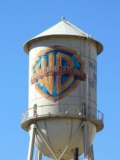 Warner Brothers water tower