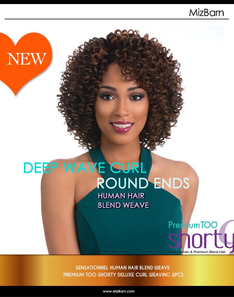 Meet Deep Wave Curls Human Hair Blend Weave Mizbarn Com