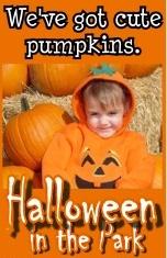 Halloween in the Park Coming October 29