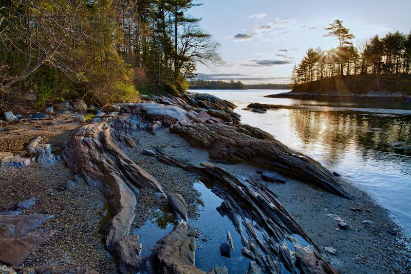 Wolfes neck state park