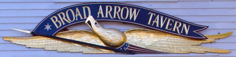 Broad Arrow Sign