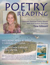 Tina Gibson Poetry Reading