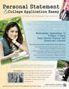 Personal Statemant & College Application Essay Workshop