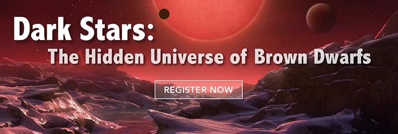 Dark Stars - The Hidden Universe of Brown Dwarfs