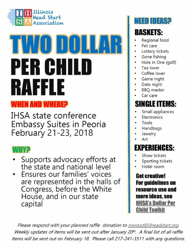 $2 Per Child Campaign RAFFLE