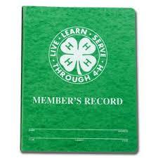 CA 4-H State Record Book