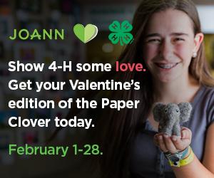 JOANN Paper Clover campaign
