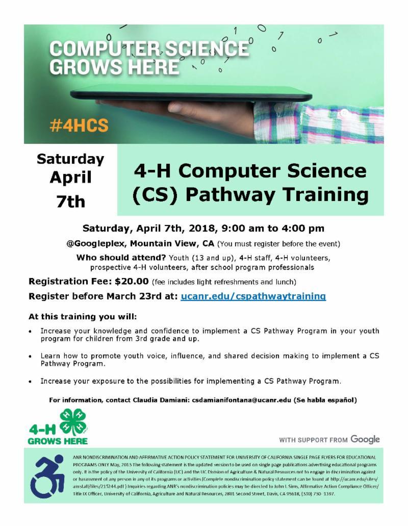 CS Pathway flyer
