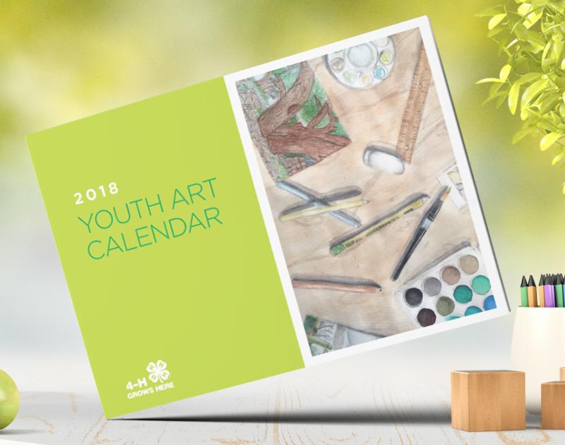 4-H Art Calendar 2018