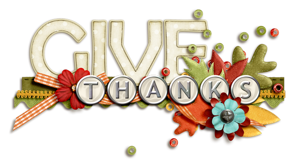 Always Give Thanks Clip Art