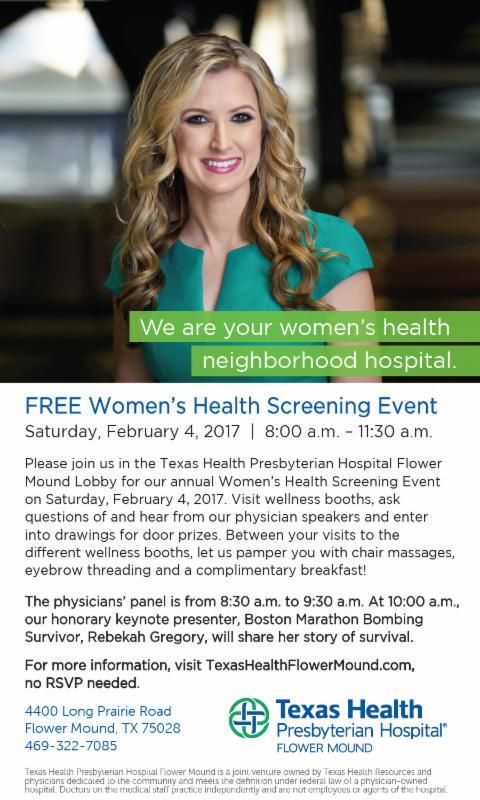 Free Women's Health Screening