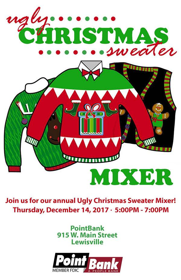 Ugly Christmas Sweater Mixer