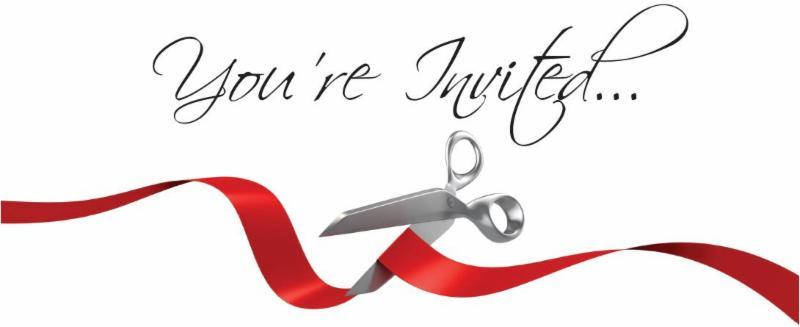 Ribbon Cutting Invited