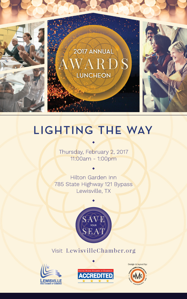 Annual Awards Luncheon, Lighting the Way