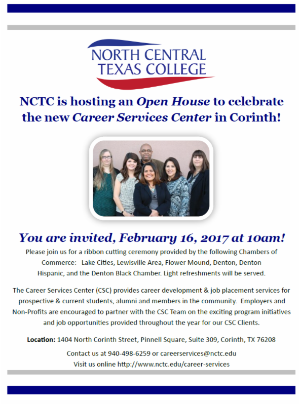 North Central Texas College Ribbon Cutting
