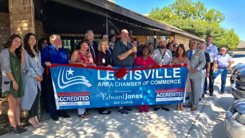 Lewisville Visitor Information Center Ribbon Cutting