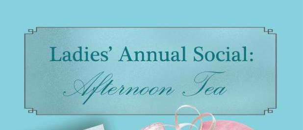 Ladies_ Annual Social Afternoon Tea