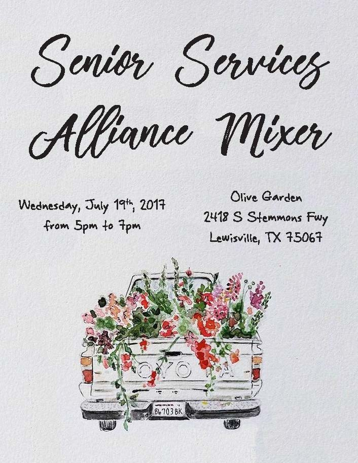 July, 2017 Senior Services Alliance