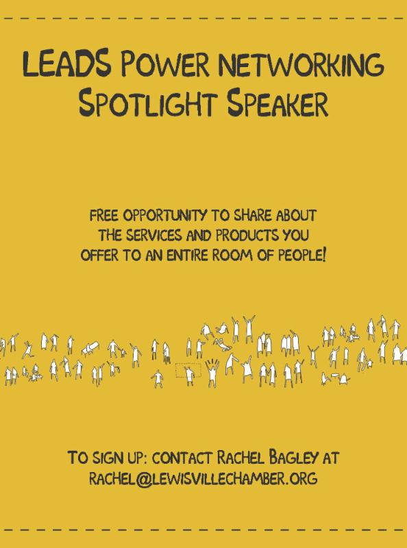 LEADS Power Networking Spotlight Speaker