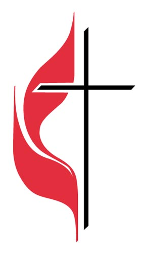 United Methodist cross & flame logo