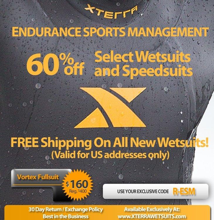 XTERRA Wetsuit Offer