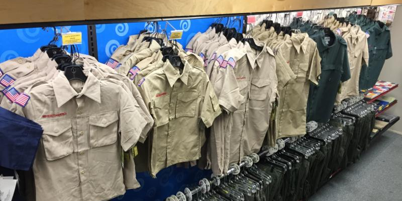 scout shop t shirt uniform