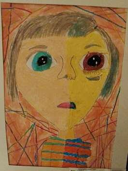 Monday v Friday by Lindsay Jones, grade 4. Van-Far Elementary, Van-Far R-1
