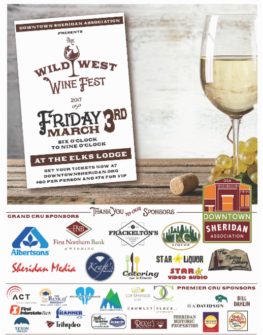 Wild west wine fest tickets are still available for Valley motor honda sheridan wyoming